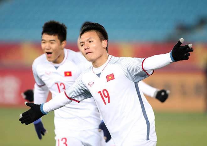 Quang Hải lần thứ 2 gỡ bàn cho Việt Nam